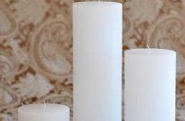 Large Cylinder Candles